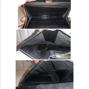 CHANEL Bags - Chanel Patent Leather Vintage Wallet on Chain